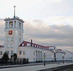 外贝加尔斯克火车站