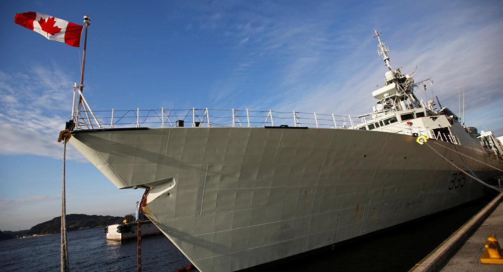 加拿大军舰为何出现在日本海岸?