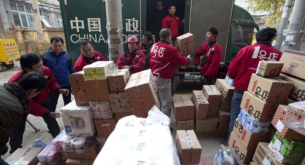 Он-лайн покупки в Китае.
