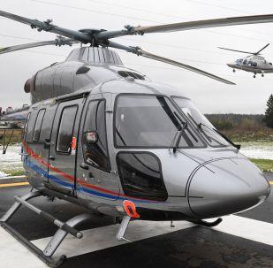 俄直升機公司:將向中國災難醫療協會供應20架」安薩特「直升機