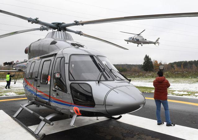 """俄直升机公司:将向中国灾难医疗协会供应20架""""安萨特""""直升机"""