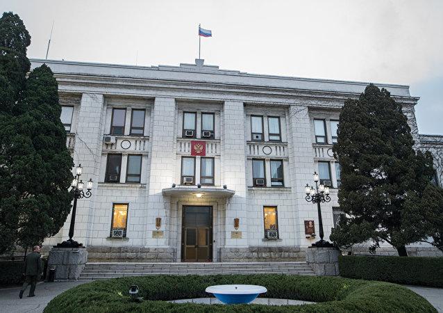 俄罗斯驻朝鲜大使馆