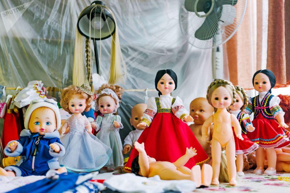 伊萬諾沃「玩偶世界」玩具廠的成品