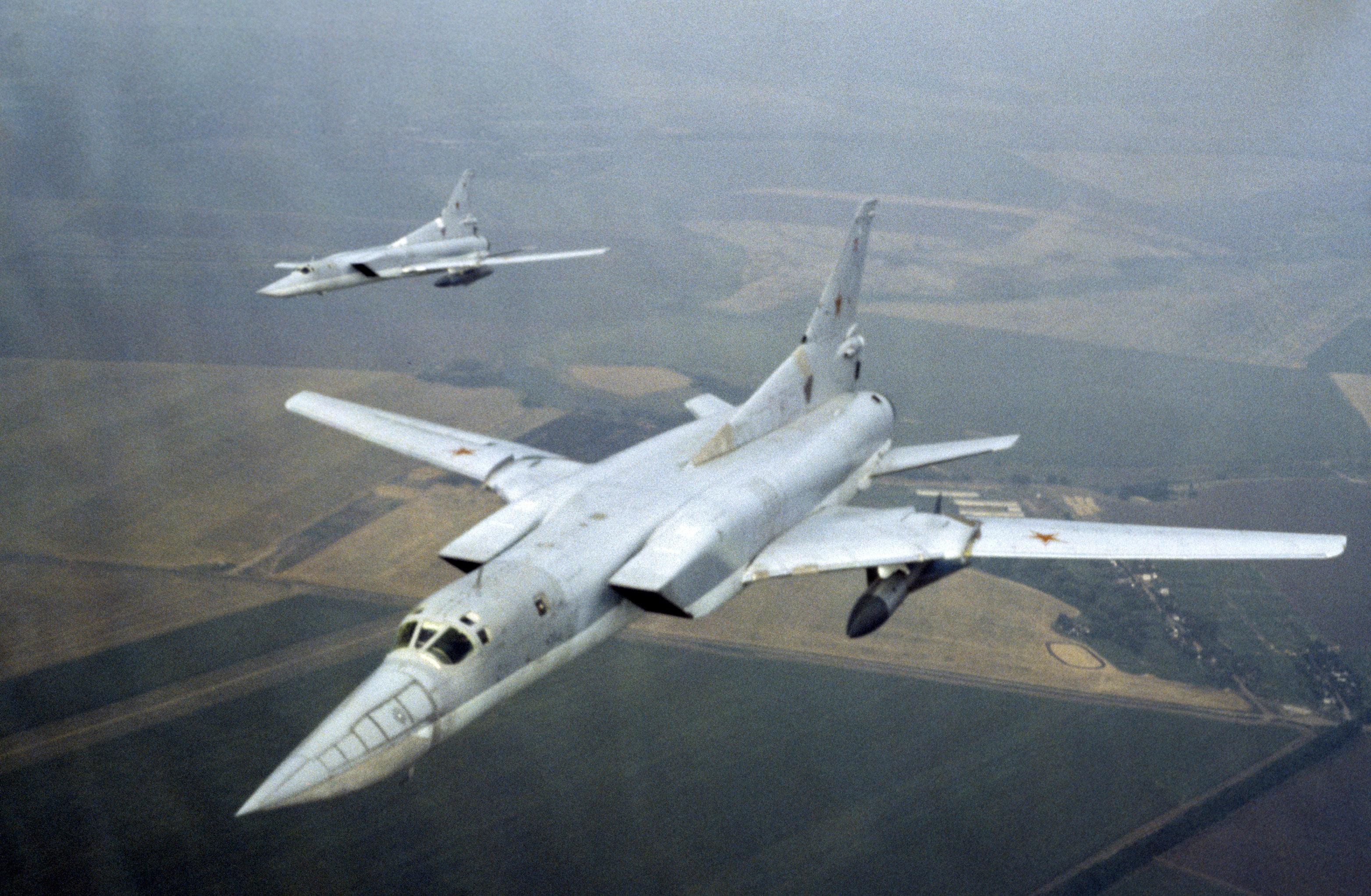 遠程超音速導彈轟炸機圖-22M