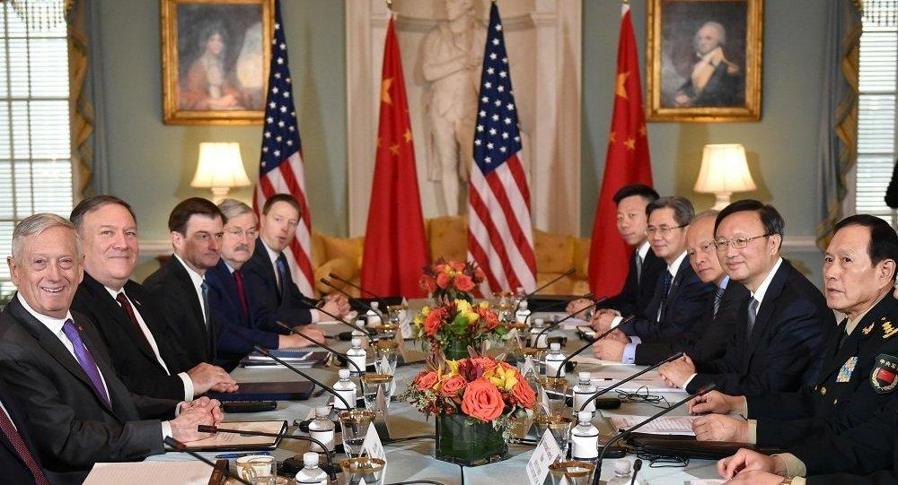 中美讨论北京在中国南海的政策和穆斯林的状况