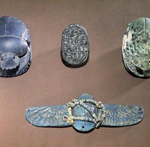 俄羅斯國家普希金造型藝術博物館的陶瓷神聖糞金龜
