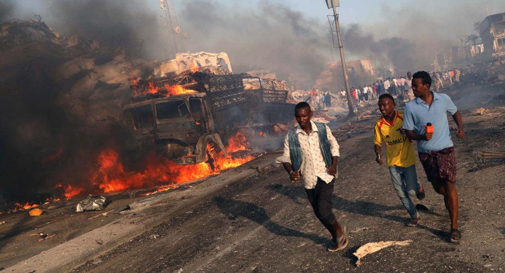 索马里爆炸(资料图片)