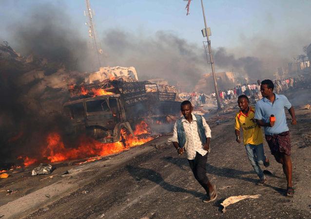 索馬里爆炸(資料圖片)