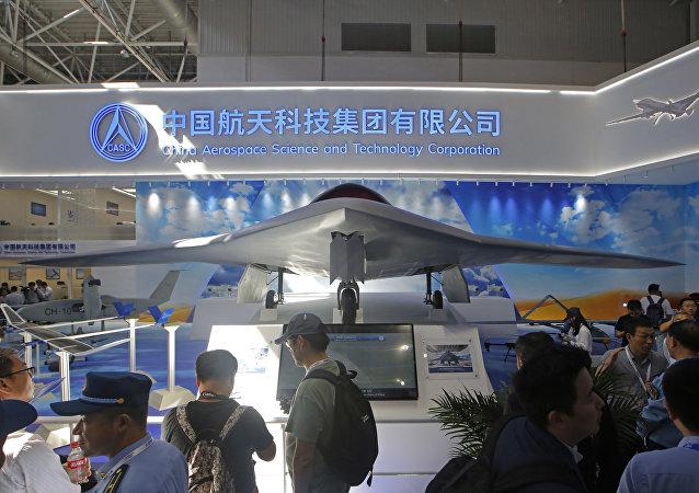 中国成功测试自己首架全复材翼龙系列无人机