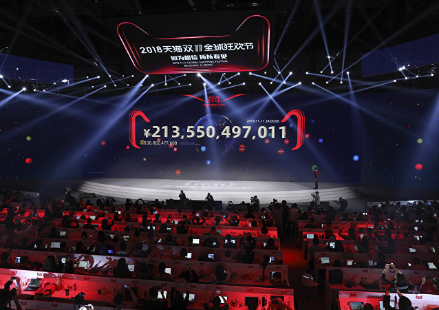 阿里巴巴在中國光棍節再創銷售記錄