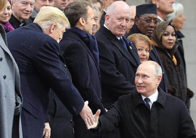 克里姆林宮披露普特巴黎談話內容