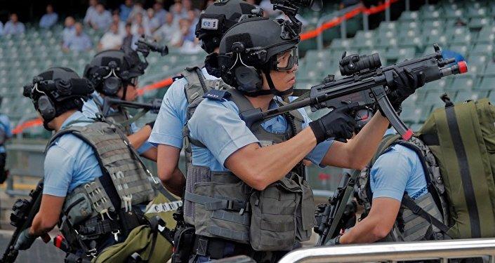 第二屆世界警察手槍射擊比賽在廣東舉行