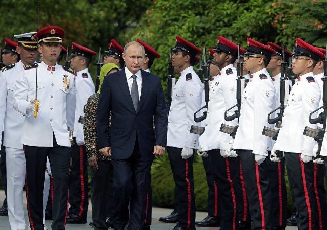 克宫:普京在新加坡的日程安排略有调整