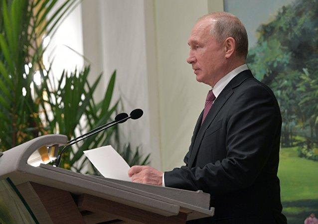 普京邀請東盟國家商人參加聖彼得堡國際經濟論壇和東方經濟論壇