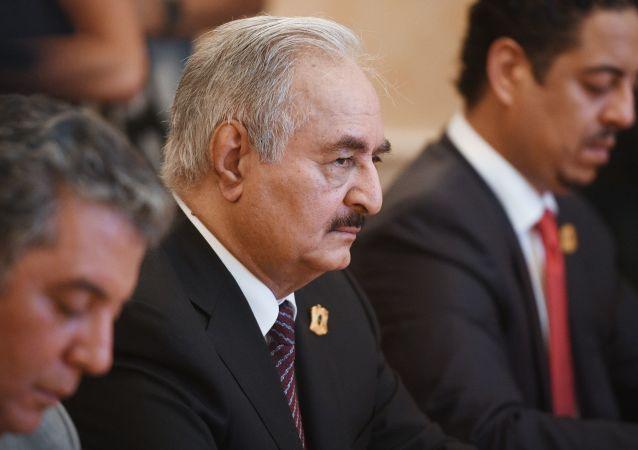 利比亞武裝部隊最高司令哈夫塔爾