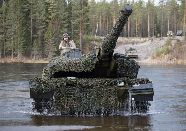 「三叉戟」(Trident Juncture)軍事演習