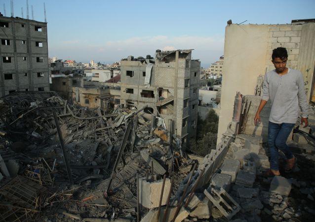 巴勒斯坦卫生部:以军空袭加沙地带已造成6名巴方人员死亡