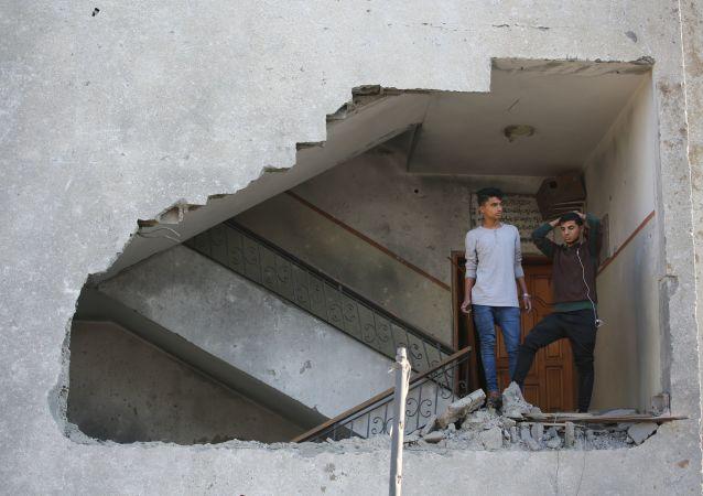 以军称拦截100多枚巴方火箭弹并打击加沙地带160个目标
