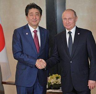 俄日元首就建立和平條約問題特別代表工作機制達成共識