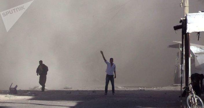 国际联军对叙利亚的打击导致平民伤亡