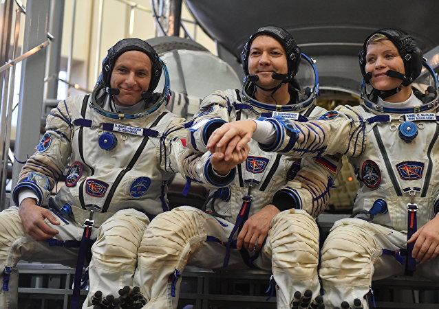 """外国宇航员相信俄""""联盟""""运载火箭、飞船非常可靠"""