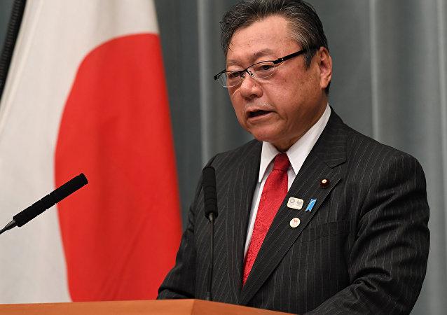 日本主管網絡安全和2020年東京奧運會的部長櫻田義孝