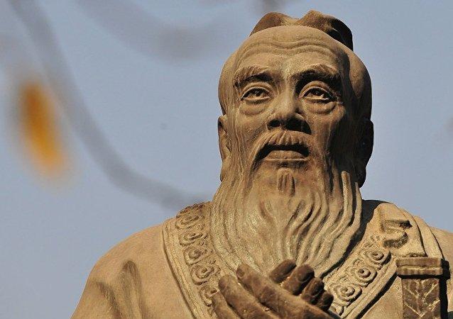 孔子雕像(图片资料)