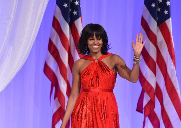 美國前第一夫人米歇爾·奧巴馬若參選總統將擊敗特朗普