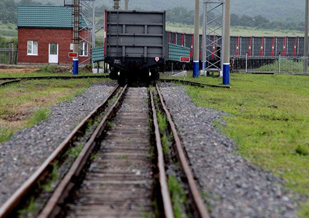 江西省开通至俄罗斯的中欧果蔬班列