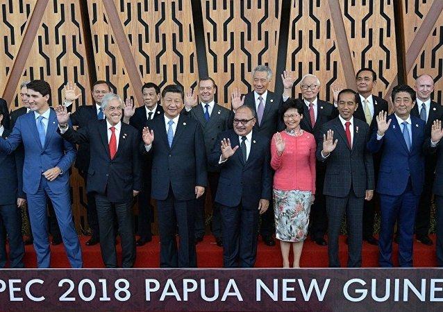 亚太经合组织峰会在巴布亚新几内亚召开