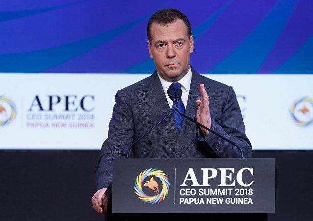 俄总理梅德韦杰夫