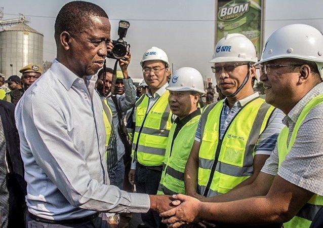 中国在赞比亚修建新陵园永记中非友谊