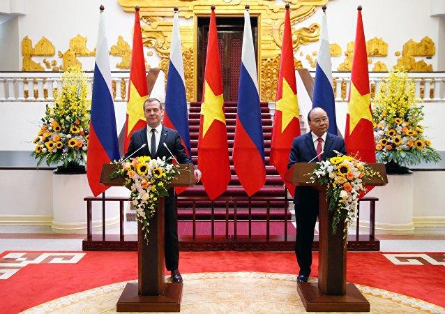 """俄越两国赞同尽快通过""""南海行为准则"""""""