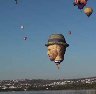 墨西哥热气球节