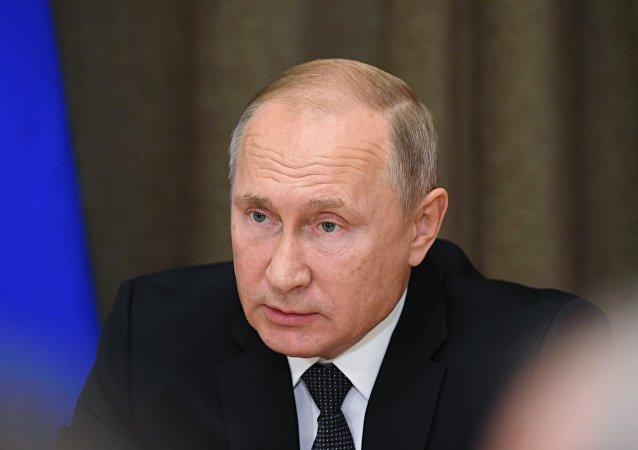 克宫:普京全盘掌握围绕刻赤海峡事件情况