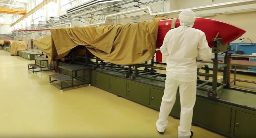 俄「海燕」核動力巡航導彈