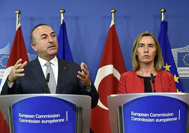 欧盟与土耳其重申支持叙伊德利卜形势稳定备忘录及伊核协议