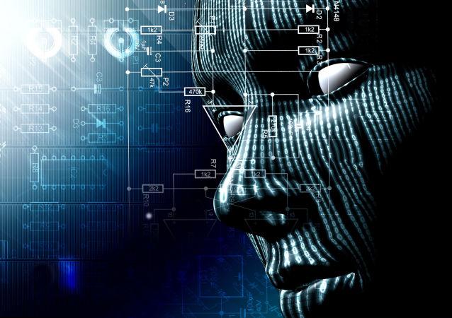 Модель робота с искусственным интеллектом