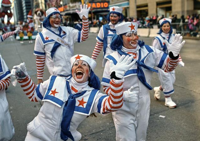 皮卡丘和鸡蛋人:纽约感恩节年度游行
