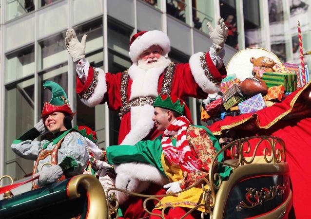 圣诞老人讲述其圣诞之旅的筹备活动