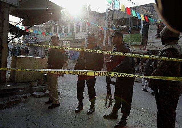 巴基斯坦拉合尔一座圣殿附近发生爆炸 造成3人死亡 18人受伤
