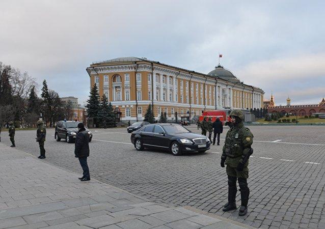 """俄联邦警卫局:""""克宫演习""""第一阶段顺利结束"""