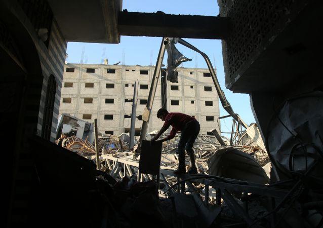 加沙地带隧道坍塌造成巴勒斯坦伊斯兰圣战组织四名武装分子受伤