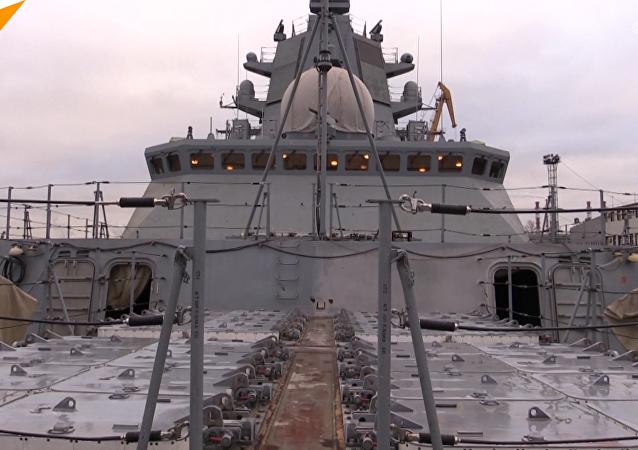 俄22350型护卫舰将迎来工厂试航