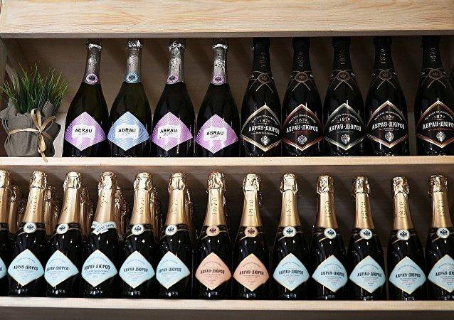 Abrau-Durso公司生产的香槟酒
