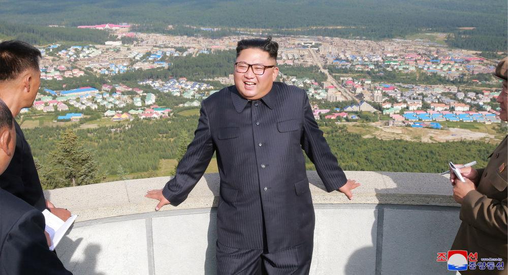 朝中社:金正恩出席位于三池渊郡的朝鲜最大建设项目竣工典礼