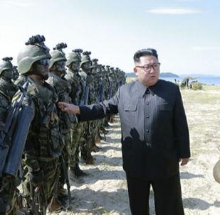金正恩5個月來首次開展軍事視察
