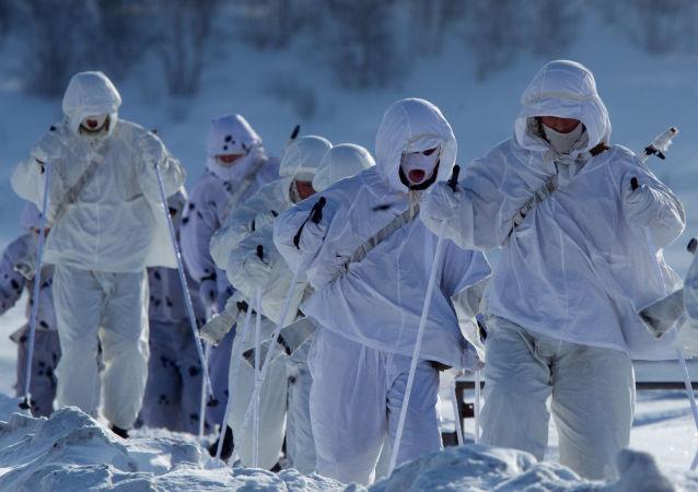 俄北极部队