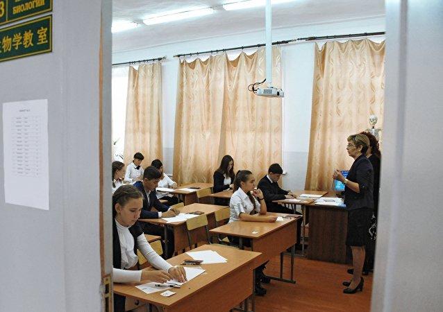 约150名莫斯科中学生将参加今年全国统考汉语考试