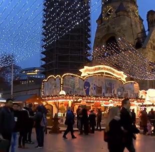 柏林聖誕集市再度開放